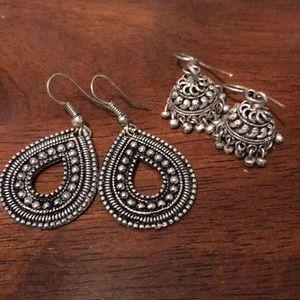 🛍🎀SALE!!! All must go!🎀 Silver earring set